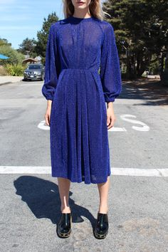 Rachel Comey Bartram Dress - Blue