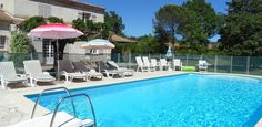 #Child-friendly villa near Callian village.  With fenced pool, large garden. Great for #kids!