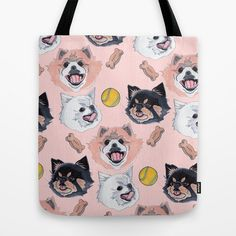 Pom Party Tote Bag, $22   17 Gifts For People Whose Best Friend Is A Pomeranian
