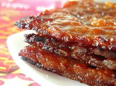 Homemade Chinese Pork Jerky (Bak Kwa)