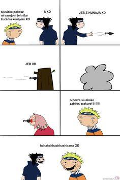 Read [Naruto] from the story Memy z anime ✔️ by SabakuNoSaara (soullesscreature) with reads. Anime Meme, Sasuke X Naruto, Naruto Meme, Akatsuki, Boruto, Webtoon, Otaku, Marvel, Lol
