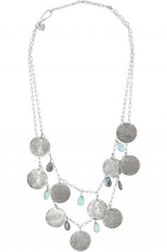 stelladot.com/sites/kristareneross  labradorite, Chalcedony, and antiqued coins...