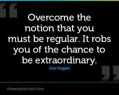 Quotes inspira... Uta Hagen ...