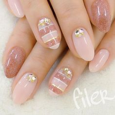 Best Decorated Nail Patterns for Debutants nail patterns health, nail patterns for summer nail patterns easy, nail patterns for short nails, nail patterns with tape Beautiful Nail Designs, Beautiful Nail Art, Gorgeous Nails, Pretty Nails, Mauve Nails, Pink Nails, Hair And Nails, My Nails, Do It Yourself Nails