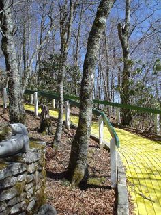 Abandoned Yellow Brick Road from The Land of Oz
