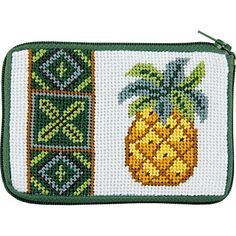 Hawaiian Pineapple Needlepoint Coin Purse-- Stitch & Zip Alice Peterson Company http://www.amazon.com/dp/B00X96PW0U/ref=cm_sw_r_pi_dp_5nJuvb0Z99BNQ