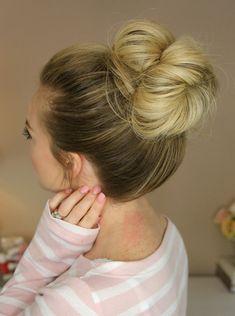 Full High Bun Hairstyles Trends
