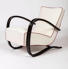 Halabala Jindrich Pair Of Lounge Chairs