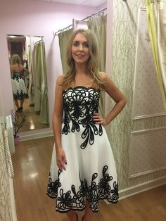 Lara Dress (8-12) Occasion Wear, Special Occasion Dresses, Race Day, Fashion Boutique, Party Dress, Black And White, Lady, Womens Fashion, How To Wear