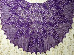 Ravelry: swallow67's Spring Wood Shawl- free pattern