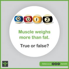 True or False? Time to test your knowledge a little. #bemefit #BrainyWednesdays #fitnessquiz #stayfit