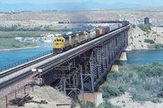 Santa Fe colorado river bridge | Colorado River Bridges