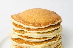 Esta receita de panqueca é ótima para emagrecer e pode ser usada na dieta dukan porque é rica em proteínas e baixa quantidade de gordura e calorias.