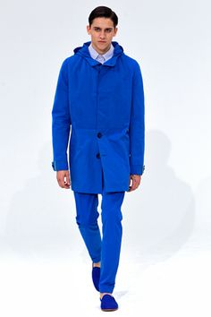 moda azul
