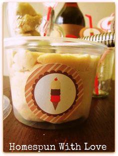 Summer Camp: Root Beer Float Playdough - Design Dazzle
