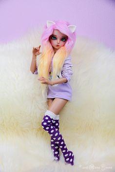 Ooak Dolls, Blythe Dolls, Girl Dolls, Barbie Dolls, Custom Monster High Dolls, Custom Dolls, Pretty Dolls, Beautiful Dolls, Kawaii Doll