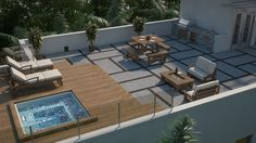 This beautiful rooftop space was completed by Shoma Group. #luxeFL