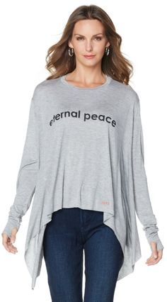 This Peace Love World parachute top is going to be one of your new favorite! With six different phrases/designs to choose from, you're sure to find one that matches your style and personality! Which of the designs is your favorite?
