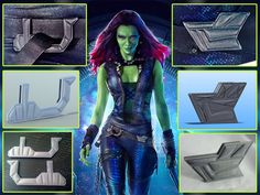 designs for all 3 Gamora Belt Buckle includes both front and the singular mirrored back buckle The buckle faces are designed to be printed upright Accepts a standard 38mm Belt and the secondary front buckle is also designed with an integral adjustable belt clasp