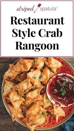 See how easy it is to make one of the most popular Chinese-American appetizers at home with this Crab Rangoon recipe! Crispy wonton skins and a creamy crab filling make for an irresistible bite. Deep fried, airfryer, and oven instructions included. Best Seafood Recipes, Crab Recipes, Appetizer Recipes, Asian Recipes, Dinner Recipes, Healthy Recipes, Wonton Recipes, Easy To Make Recipes, Recipes With Wonton Wrappers