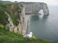 cliffs of Étretat in Normandie, France - Google Search