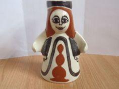 Candle Holder (female), Bernard Moss, Mevagissey Pottery, Cornwall (54-56) | eBay