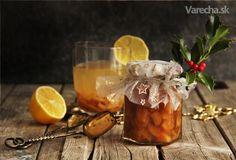Pečený zázvorový čaj s citrusmi
