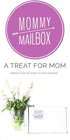 A treat for mom - Monthly gifts delivered to your doorstop. Take your self-care to the next level by getting a monthly surprise of curated gifts sent just for you. Treat yourself, you deserve it. AD