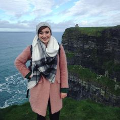 Bundled up @ the Cliffs of Moher. #taybaysquaredtakesireland #cliffsofmoher #travel #studyabroad #isaabroad #ireland by taybaysquared