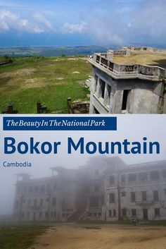One thing to go and explore in Kampot, Cambodia is Bokor Mountain. With abandon buildings, an old church, waterfalls, a new resort and an awesome view, you can be entertained for hours. #cambodia #kampot #explore