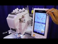 Overview of the Entrepreneur® PR650e, six-needle embroidery machine - YouTube
