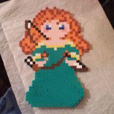 Merida Brave perler beads by momop777