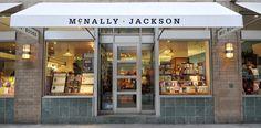 McNally Jackson Books Shop - 52 Prince Street, Soho, New York.