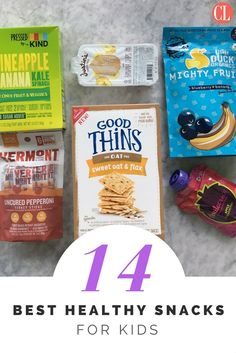 When your kids feel their tummies rumble, make sure you have plenty of healthy snacks on offer. Variety is important, as is nutrition. Each week, we vet and taste test dozens of brand new snacks for eaters of all ages. The best snacks for kids make their way into this roundup, so be sure to check back often for brand-new additions.   Cooking Light