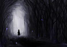 Konachan.com - 119203 black dark feesh forest original silhouette tree.jpg (1200×849)