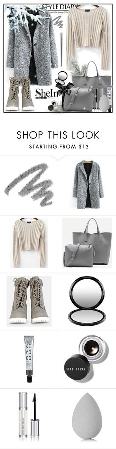 """""""Shein 1/3"""" by erina-salkic ❤ liked on Polyvore featuring Yves Saint Laurent, MAC Cosmetics, Bobbi Brown Cosmetics, Givenchy and beautyblender"""