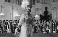 Rare photograph from one of the balls of imperial Russia.