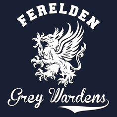 Ferelden Grey Wardens - Dragon Age by firlachiel