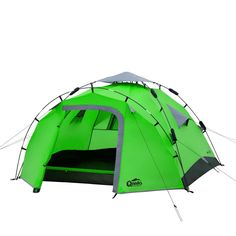 Qeedo Quick Pine 3 Campingzelt - grün