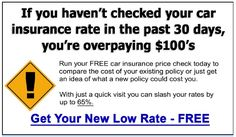 Stop overpaying for Auto Insurance in Florida. Visit http://FLCheapCarInsurance.com to get car insurance at up to Half-Price.