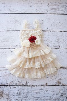 flower girl dress, lace ivory flower girl dresses, baby lace dress, toddler girls dress, dress with sash, rustic girls wedding dress, shabby on Etsy, $50.00