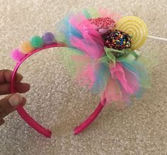 DIY Candy Headband! A blog about my passions hoping to inspire you to explore and create your own!