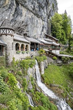 Panoramaweg Thunersee: 5 beautiful places between Thun and Interlaken - St. Beatus-Höhlen Beatenberg – stalactite caves in Switzerland - Places In Switzerland, Switzerland Interlaken, Wild Nature, Travel Alone, Vacation Destinations, Time Travel, Wilderness, Countryside, Traveling By Yourself