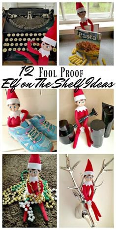 Looking for Elf on The Shelf Ideas? Then you are in luck with these 12 FOOL PROOF Elf on The Shelf Ideas! So easy no one can mess them up! #ElfonTheShelf #EasyElfontheshelf #elfontheshelfideas