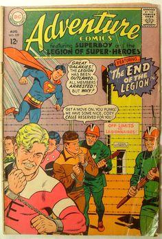 Old Vintage Comic Books | 1967+ADVENTURE+COMICS+-+SUPERBOY+Vintage+Comics+COMIC+BOOK.JPG