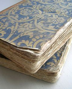 fabric covered practice books