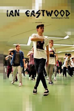 Ian Eastwood; Another Choreographer that we would like our video to reach through social media, and fly him out here to teach a class.  (Or since he has workshops all over the world, maybe raise money to have some of the dance students travel to attend a workshop of his)
