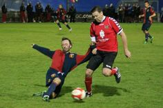 Genoa battling with Chris Waddle, Pioneers Cup 2013