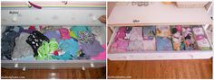 Life in Fashion post: How to clean up and organize your kids closet and dresser!
