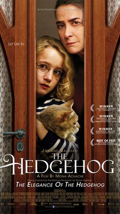 The Hedgehog: Josiane Balasko, Guarance LeGuillermic, Togo Igawa, Anne Brochet: Fantastic book & film! Movie List, Movie Tv, Hedgehog Movie, French Movies, Netflix Movies, Movies 2019, Coming Of Age, Great Movies, Excellent Movies